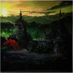 Ancient  Bagan Pagoda Hand Painting