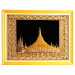 Shwe Dagon Pagoda  Gold Embroidery