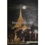 The Night View of Shwe Dagon Pagoda