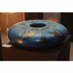 Beautiful Blue Color Painted Clay Pot