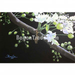 Thanakha Flower  Painting