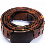 Dark Brown Color of Wooden belt
