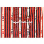 Chin Blanket with Red and Black Stripe