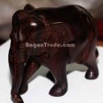Elephant made by Burmese Blackwood