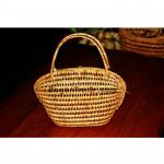 Oval shape Cane Basket