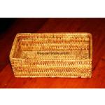 Myanmar Handmade Cane Tissue Box