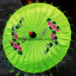 Beautiful Pathein Umbrella in Myanmar