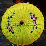 Beautiful Traditional Umbrella in Myanmar