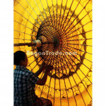 Yellow Color Umbrella for Garden &  Beach