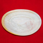 Small Dessert Plate of Oval Shape