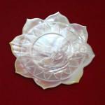 Lotus Design of Dessert Plate made in Myanmar
