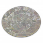 Mother of Pearl plate with star
