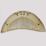 Yellow Color Comb made by Mother of Pearl