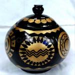 Inn-Wa Design Pot made in Coconut shell in Myanmar