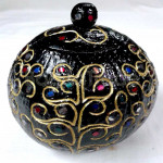 Apple Tree Coconut Shell Carving Art