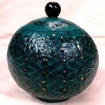 Handicraft Coconut Shell pot from Myanmar