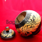 Coconut Shell Of Myanmar Traditional Craft
