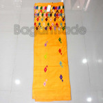 Traditional Yellow color Kachin Longyi One set