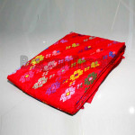 The Full Flower Design Kachin Longyi One Set