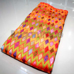 Special Kachin Silk /Poe Of Orange Design