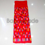 One Set of Kachin Silk Woven Fabric With Cotton