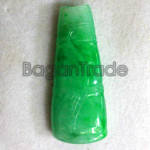 Yellowiest Green Jade Carving Pendant