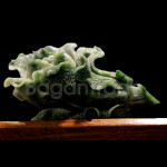 Chinese Cabbage Jade Sculpture from Myanmar