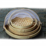 Circle Shape Fruit, Cake Bamboo Cover
