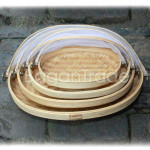 The Oval Shape Bamboo Cover