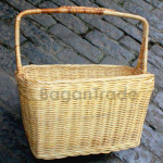 Square design Picnic Basket made by Cane