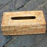 Hand woven Cane Tissue  Box Cover