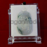 Zarmani Bird and Dragon Design jade pendant