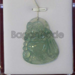 Chinese Laughing Buddha A Jade Pendant