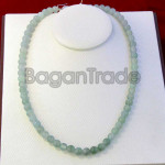 Beautiful Green Color of Jade Bead Necklace
