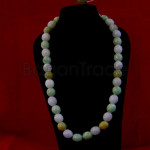 Beautiful Color of Jade Necklace made in Myanmar