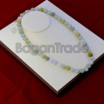 Colorful 47beads Beautiful Jade Bead Necklace