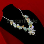 Charming Colourful Jade Necklace with Silver 925