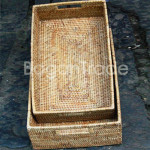 The Durable Rectangle design Cane tray Set