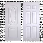 Mullion Door Vinyl Polywood V-Series