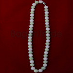 Green  and White Color of Jade Bead Necklace