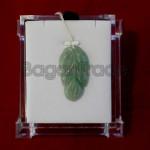 Handmade Green Leaf Jade Pendant