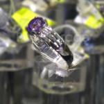 Amethyst Gemstone Ring in Myanmar