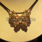 Butterfly Design made by  Jade and Zircon Locket