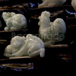 Chinese Zodiac animals Jade Sculpture Shelf