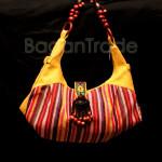 Xylophone Shape Yellow color Women Handbag