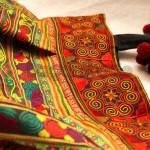 Beautiful Color of Woman Cotton Handbag