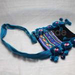 """Blue Color """"Akhar"""" Traditional Shoulder Cotton"""