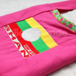 Shan Flag Design Small Shoulder Bag