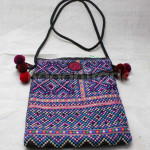 Small Beautiful Design of Cotton Shoulder Bag