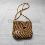 Handmade Rattan Small Shoulder Bag